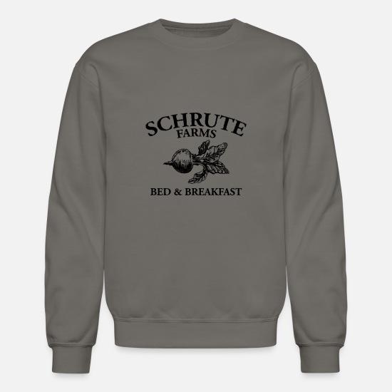 2c522d156 Bed Hoodies & Sweatshirts - Schrute Farms Bed and Breakfast - Unisex Crewneck  Sweatshirt asphalt gray. Customize