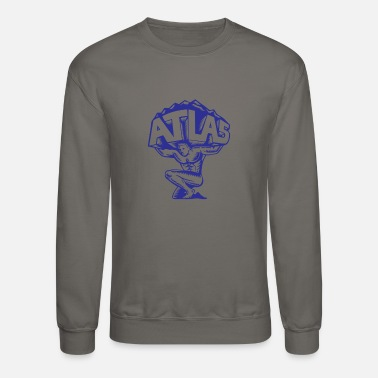 Atlas Atlas Lifting Mountain - Crewneck Sweatshirt