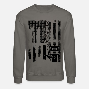 Air Traffic Control Flag Shirt - Unisex Crewneck Sweatshirt
