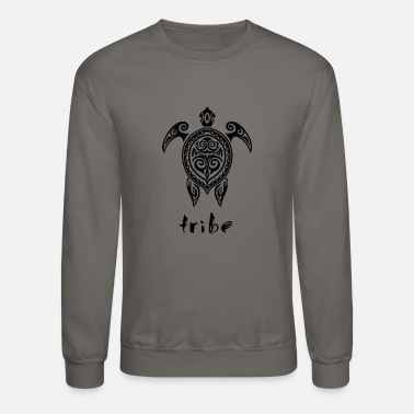 Polynesia Tribe (Hawaii #2 in Black) - Crewneck Sweatshirt