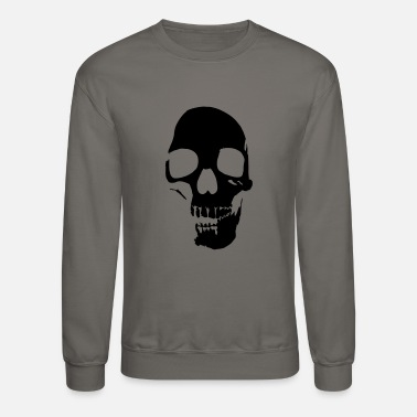 Dark Gitd skull v2 1color Vector - Unisex Crewneck Sweatshirt