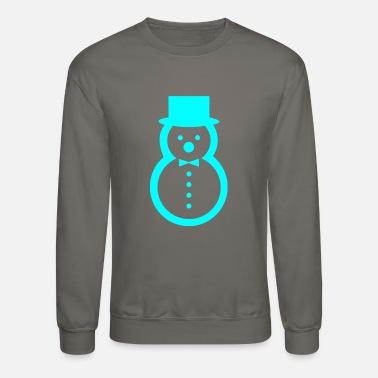 snow sculpture - Unisex Crewneck Sweatshirt