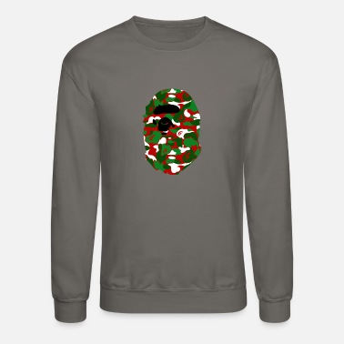 Bathing A Bathing Ape Camo Big Ape Head 2016 - Unisex Crewneck Sweatshirt