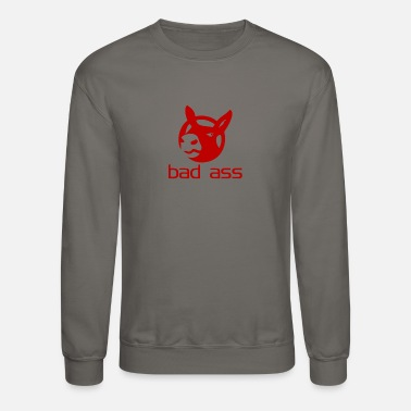 Bad-ass Bad Ass - Crewneck Sweatshirt