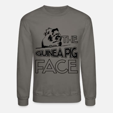 Guinea Pig The Guinea Pig Face Shirt - Unisex Crewneck Sweatshirt