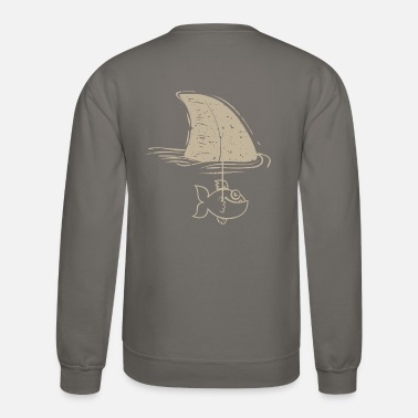 Shark Fake - Unisex Crewneck Sweatshirt