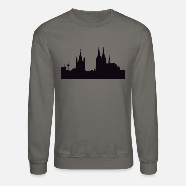 Cathedral Cathedral Illustration - Unisex Crewneck Sweatshirt