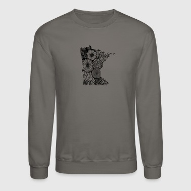 MINNESOTA MN WILDFLOWER - Crewneck Sweatshirt