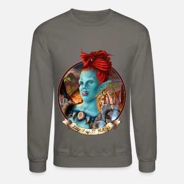 World Female troll - Crewneck Sweatshirt