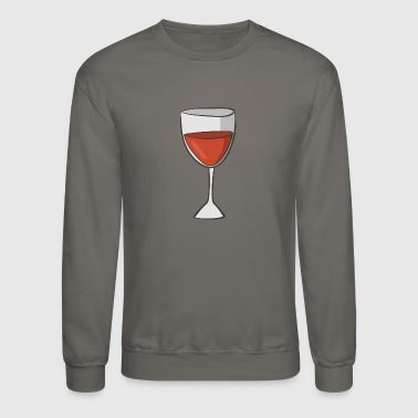 red wine - Crewneck Sweatshirt