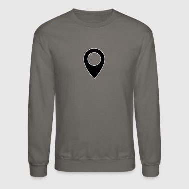 Map pin - Crewneck Sweatshirt