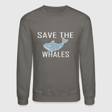 Save The Whales Save the whales - Crewneck Sweatshirt