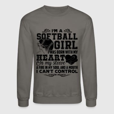 Softball Softball Shirt - Crewneck Sweatshirt