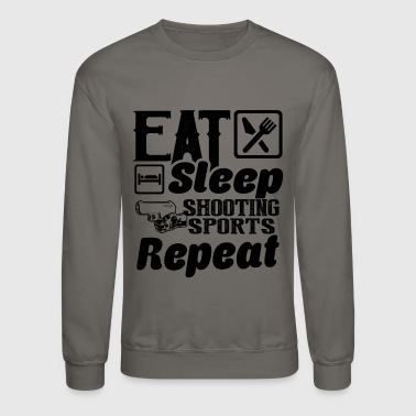 Shooting Eat Sleep Shooting Sports - Crewneck Sweatshirt