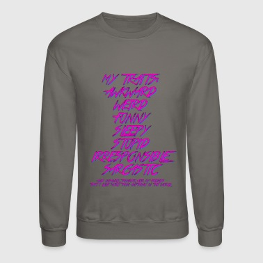 My Traits - Crewneck Sweatshirt