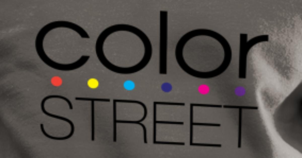 Color Street Block Color Logo Unisex Crewneck Sweatshirt Spreadshirt