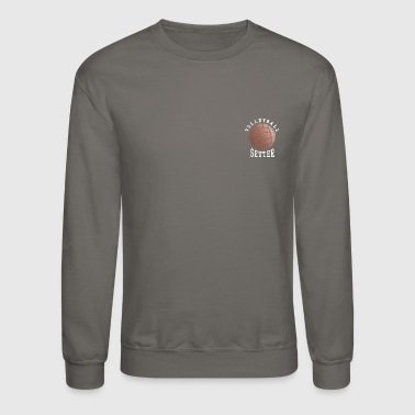 Rose Gold Volleyball Setter - Crewneck Sweatshirt