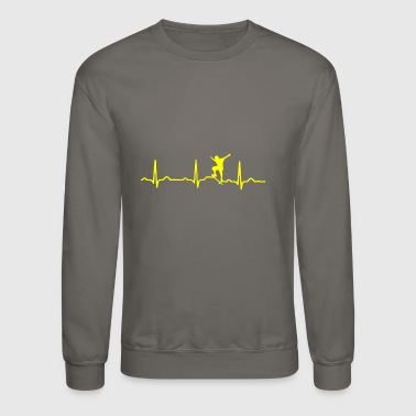 GIFT - SKATEBOARD YELLOW - Crewneck Sweatshirt