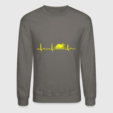 GIFT - ECG CHICKEN ROAST YELLOW - Crewneck Sweatshirt