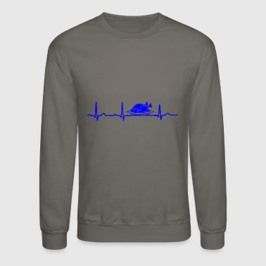 GIFT - ECG CHICKEN ROAST BLUE - Crewneck Sweatshirt