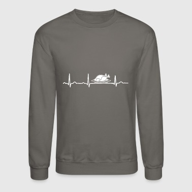 GIFT - ECG CHICKEN ROAST WHITE - Crewneck Sweatshirt