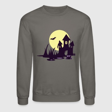 Creative Haunted Home | Halloween - Crewneck Sweatshirt