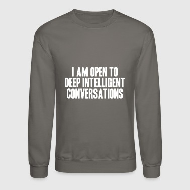 debate - Crewneck Sweatshirt