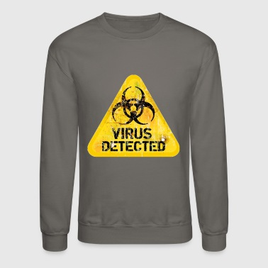 Virus Detected - Crewneck Sweatshirt
