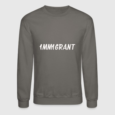 Immigrant 1MM1GRANT White - Crewneck Sweatshirt