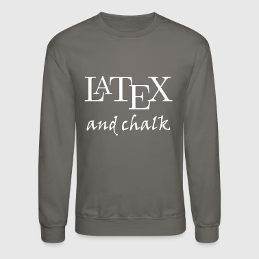 LaTeX and chalk - Crewneck Sweatshirt