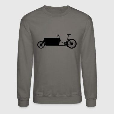 cargo bike - Crewneck Sweatshirt