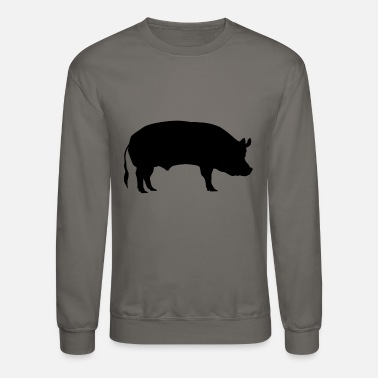 Hog Pig Piggy Miss Piggie Farmer Hog Swine Gift - Crewneck Sweatshirt