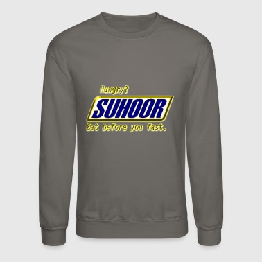 Ramadan hungry Limited Edition - Crewneck Sweatshirt
