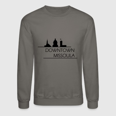 Downtown Missoula - Crewneck Sweatshirt