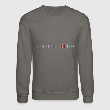 Sound Waves sound - Crewneck Sweatshirt