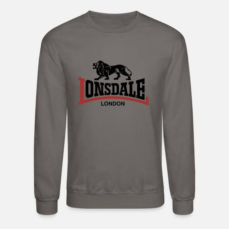London Hoodies & Sweatshirts - Lonsdale London - Unisex Crewneck Sweatshirt asphalt