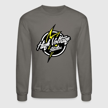 High Voltage Studios Logo - Crewneck Sweatshirt