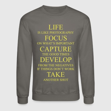 Photography Design - Crewneck Sweatshirt