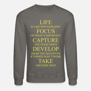 Photography Photography Design - Crewneck Sweatshirt