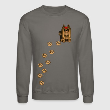 Yorkshire Terrier Dog - Crewneck Sweatshirt