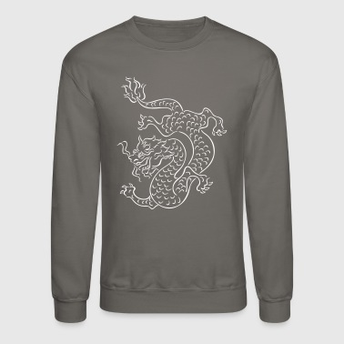 chinese dragon - Crewneck Sweatshirt