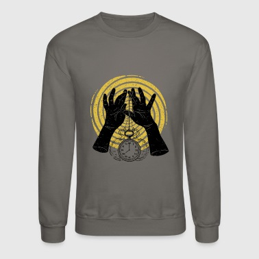 clock dark - Crewneck Sweatshirt