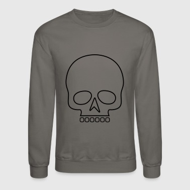 Skull outline - Crewneck Sweatshirt