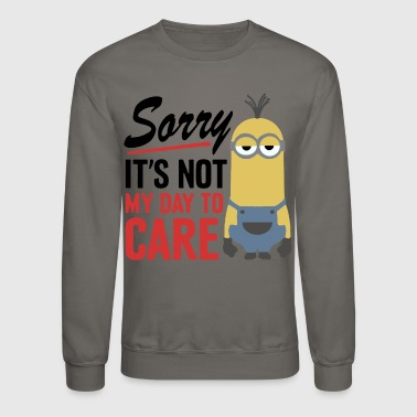 Minion Despicable Me Minions Not My Day - Crewneck Sweatshirt