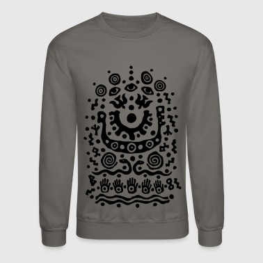 Snake Eyes Eyes and Snakes by Qenjo - Crewneck Sweatshirt