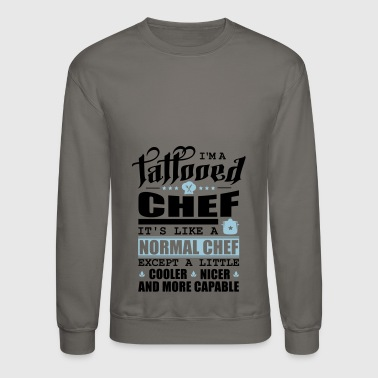 Tattooed Chef Pfade schwarz - Crewneck Sweatshirt