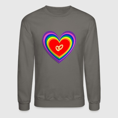 Engagement GAY ENGAGEMENT RING - Crewneck Sweatshirt