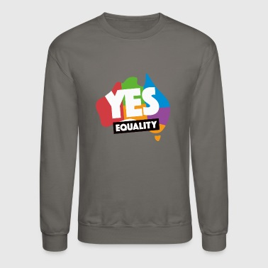 yes vote in marriage equality - Crewneck Sweatshirt