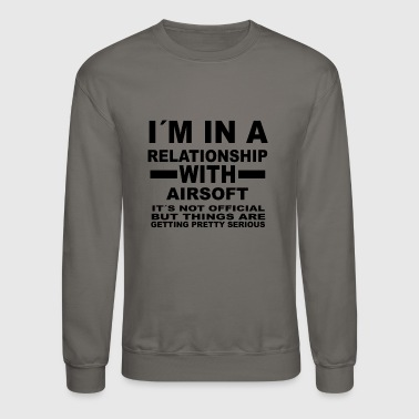 relationship with AIRSOFT - Crewneck Sweatshirt