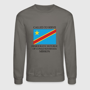 Democratic Republic of Congo Kinshasa Mission - Crewneck Sweatshirt